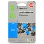 картридж Cactus CS-CLI451C, Голубой