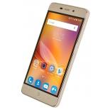 смартфон ZTE Blade X3, золотистый