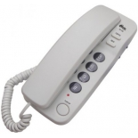 проводной телефон Ritmix RT-100, серый