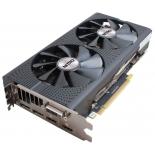 видеокарта Radeon Sapphire Nitro ОС Radeon RX 480 1202Mhz PCI-E 3.0 4096Mb 7000Mhz 256 bit DVI 2xHDMI HDCP