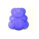 форма для выпекания Regent Медвежонок 93-SI-FO-20 Silicone синяя