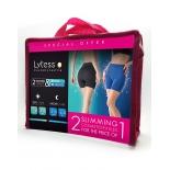шорты для похудания Набор Lytess SM, 2 шт черные и голубые
