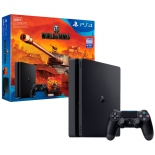 игровая приставка Sony PlayStation 4 Slim 500 ГБ + промокод для World Of Tanks