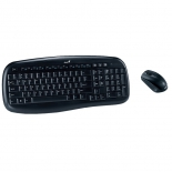 комплект Keyboard+mouse Genius KB-8000X, черный