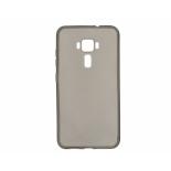 чехол для смартфона Чехол cиликоновый для Asus ZenFone 3/ZE552KL, серый / глянцевый