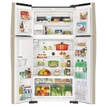 холодильник Hitachi R-W722PU1GGR, серый