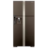 холодильник Hitachi R-W662PU3GBW, коричневый