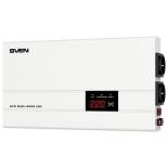 Стабилизатор напряжения Sven AVR SLIM 2000 LCD, белый