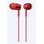 гарнитура для телефона Sony MDREX150APR E красная