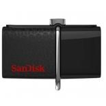usb-флешка SanDisk 64 Gb Ultra Dual SDDD2-064G-GAM46 черная