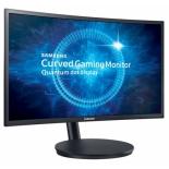 монитор Samsung C24FG70FQI, темно-серый