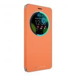 чехол для смартфона Asus для ZenFone ZS570KL View Flip Cover (90AC01E0-BCV008), оранжевый