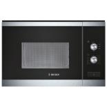 микроволновая печь Bosch HMT72M654, серебристо-черная