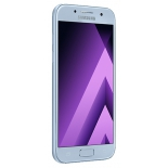 Смартфон Samsung Galaxy A3 (2017) SM-A320F, голубой, купить за 14 260руб.