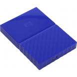 жесткий диск Western Digital My Passport 1 TB ( WDBBEX0010BBL-EEUE), синий