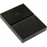 жесткий диск Western Digital My Passport 1 TB (WDBBEX0010BBK-EEUE), черный