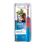 зубная щетка Braun Oral-B StagesPower StarWars электрическая, красная