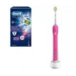 зубная щетка Oral-B Braun Pro 500 CrossAction, розовая