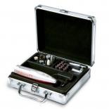 набор для маникюра Маникюрный набор Valera 651.01, серебристый/красный