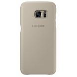 чехол для смартфона Samsung для Galaxy S7 edge Leather Cover (EF-VG935LUEGRU), бежевый