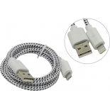 кабель / переходник Defender Lightning-USB 87471, бело-черный