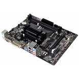 материнская плата ASRock J3455M (Intel Quad-Core J3455, 2xDIMM DDR3, max 16Gb)