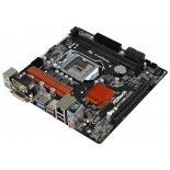 материнская плата ASRock H110M-DVS R3.0 (LGA1151, DDR4 DIMM, Intel H110)