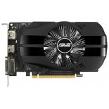 видеокарта GeForce ASUS GeForce GTX 1050 1354Mhz PCI-E 3.0 2048Mb 7008Mhz 128 bit DVI HDMI HDCP Phoenix