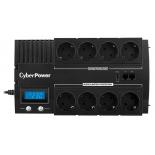 источник бесперебойного питания CyberPower BR1000ELCD 1000 ВА / 600 Вт, черный