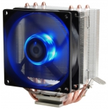 кулер компьютерный ID-Cooling SE-903, Soc115x/AMD PWM Blue LED 130W