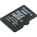 карта памяти Kingston SDC4/4GBSP