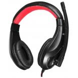 гарнитура для пк Oklick HS-L100, черно-красная