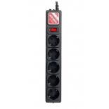 сетевой фильтр Powercube SPG-B-10 черный