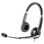 гарнитура для пк Jabra UC Voice 550 MS Duo, черно-серебристая