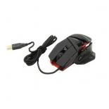 мышка Mad Catz RAT4 MCB4373100A3-04-1 черно-красная