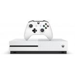 игровая приставка Microsoft Xbox One S с 1 ТБ памяти, игрой Battlefield 1 и подпиской Live на 3 мес., белая