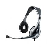 гарнитура для пк Jabra UC Voice 150 MS Duo, черно-серебристая