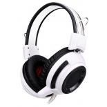гарнитура для ПК Oklick HS-G300, бело-черная