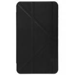 чехол для планшета IT BAGGAGE для SAMSUNG Galaxy Tab4 8'', черный с прозрачной задней крышкой