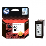 картридж HP 46, струйный, черный