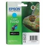 картридж Epson T0342 голубой