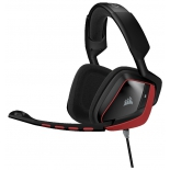 гарнитура для пк Corsair Gaming VOID Surround Hybrid Stereo (Dolby 7.1, USB адаптер), красная