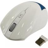 мышка SmartBuy SBM-356AG-BW USB, бело-синяя