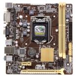 материнская плата ASUS H81M-R (Soc-1150 H81 DDRIII mATX SATA  LAN-Gbt USB3.0)
