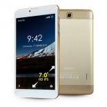 планшет Ginzzu GT-7105 8Gb 3G, золотистый