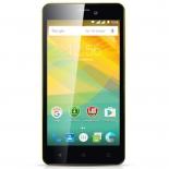 смартфон Prestigio Wize NK3 PSP3527 Duo, желтый