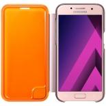 чехол для смартфона Samsung для Samsung Galaxy A3 (2017) Neon Flip Cover, розовый