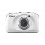 цифровой фотоаппарат Nikon Coolpix W100 белый