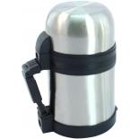 термос Diolex DXU-600-1, серебристый/черный
