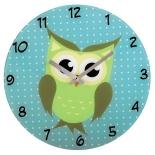 часы интерьерные Hama Owl (136213), голубые